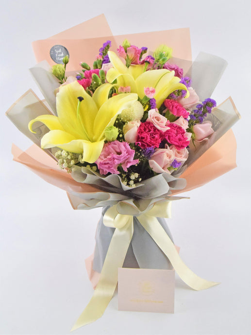 Premium Fresh Flower Bouquet Ipoh Free Delivery| Ipohfreshflower.com