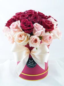 Lovely Roses Gift Box| Ipoh Free Delivery| Ipohfreshflower.com