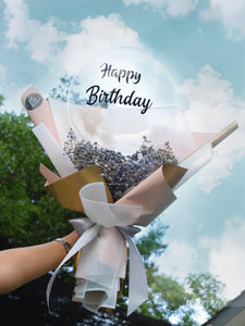 Baby Breath Balloon| Balloon bouquet| Ipoh Free Delivery| Ipohfreshflower.com