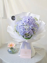 Load image into Gallery viewer, Hydrangea Fresh Flower Bouquet| Ipoh Free Delivery| Ipohfreshflower.com