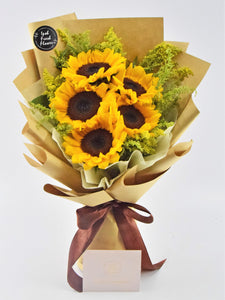 Sunflowers bouquet| Ipoh Free Delivery| Ipohfreshflower.com