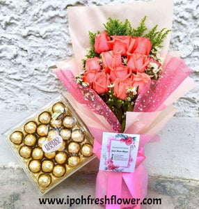 Fresh Flower And Chocolate Delivery