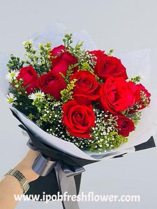Fresh Flower Bouquet- Impression | Ipoh Free Delivery| Ipohfreshflower.com
