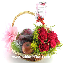 Load image into Gallery viewer, Fresh Fruit & Gift Basket| Ipoh Delivery | ipohfreshflower.com
