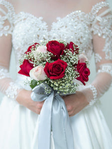 Fresh Flower Bridal Bouquet| Ipoh Free Delivery| Ipohfreshflower.com