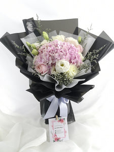 Hydrangea Flower Bouquet|Ipoh Delivery|ipohfreshflower.com