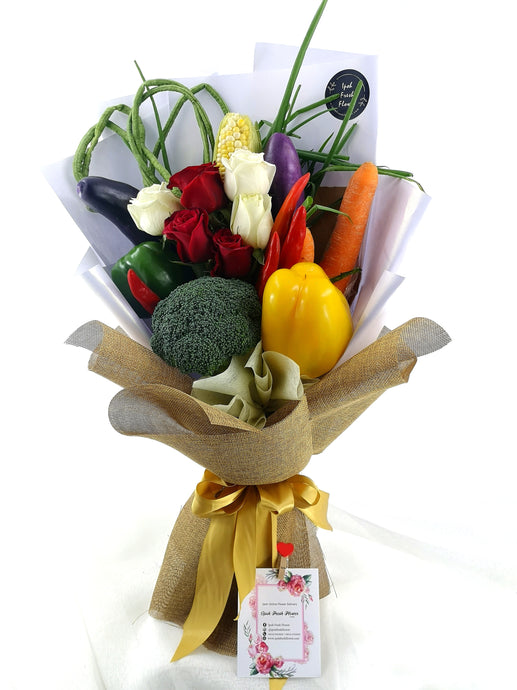 Vegetable Bouquet|Gift Delivery| Ipoh Free Delivery| Ipohfreshflower.com