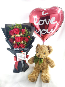 Annivesary Bundle| Fresh Flower and Gift Delivery| Ipoh Free Delivery| Ipohfreshflower.com