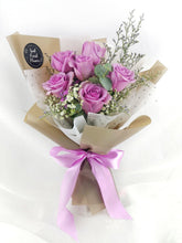 Load image into Gallery viewer, Lavendar Roses| Fresh Flower Bouquet| Ipoh Free Delivery| Ipohfreshflower.com