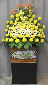 Condolence Wreaths & Funeral Flower Stand| Ipoh Free Delivery| Ipohfreshflower.com