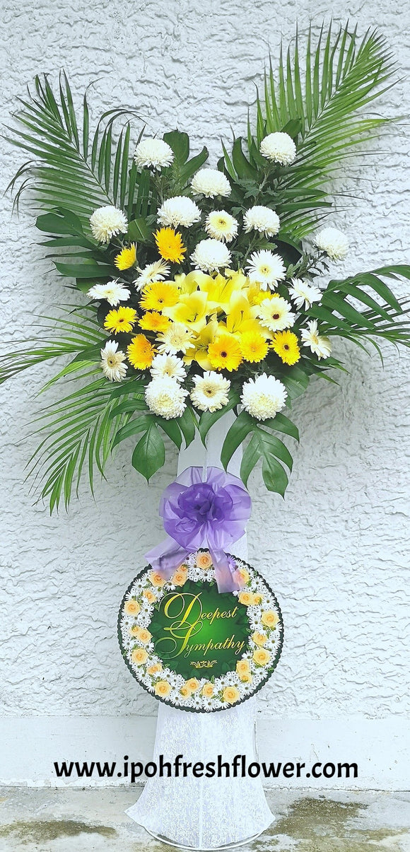 Condolence Flower Stand B4