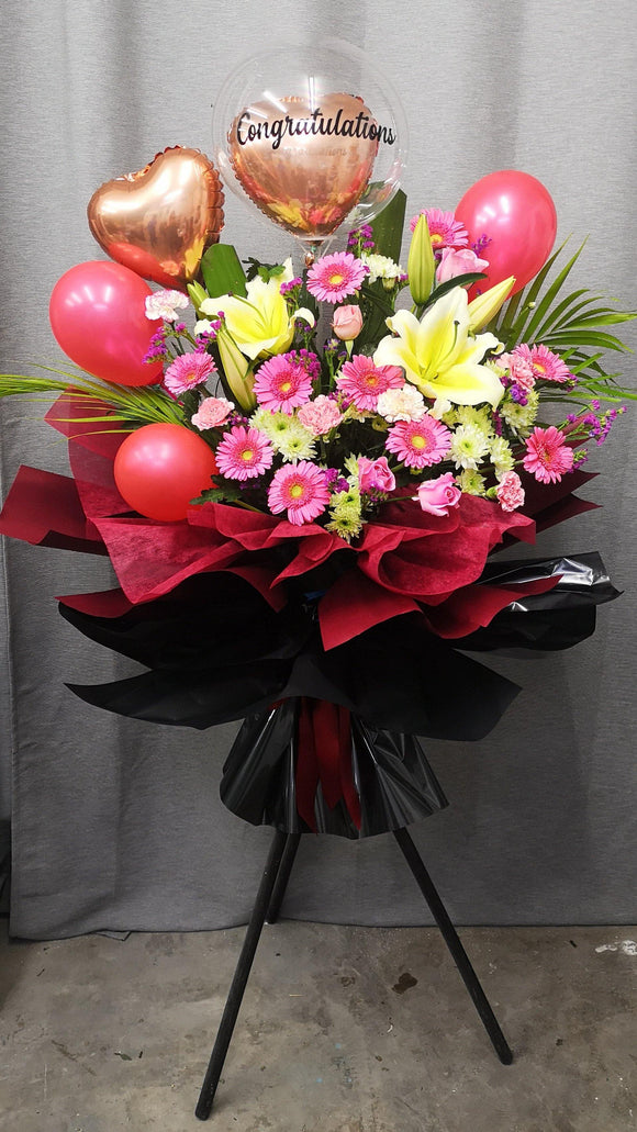 Grand Opening Flower Stands & Congratulations flowers| Ipoh Free Delivery| Ipohfreshflower.com