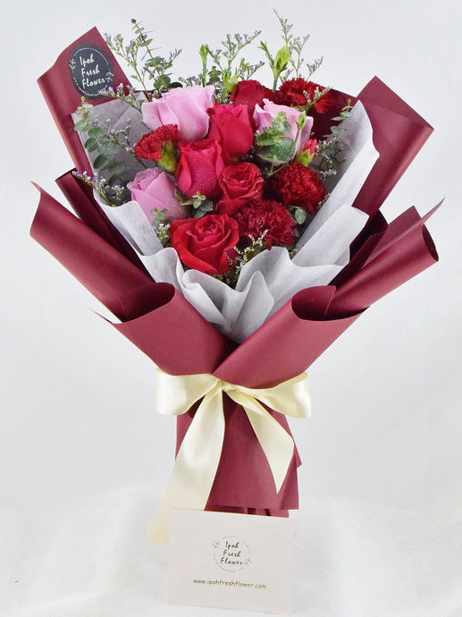 Mother's Day Special Bouquet Amber|Ipoh Free Delivery|ipohfreshflower.com
