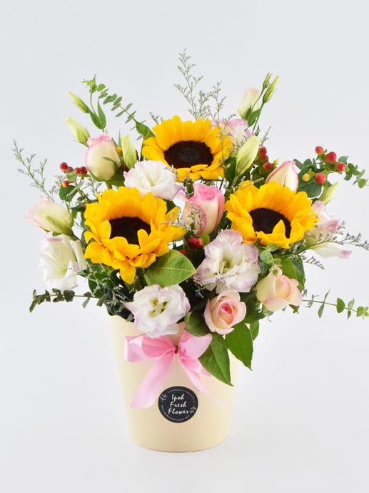 Fresh Flower Bloom Box| Ipoh Free Delivery| Ipohfreshflower.com