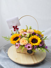 Load image into Gallery viewer, Sunflowers Basket | Ipoh Free Delivery| Ipohfreshflower.com