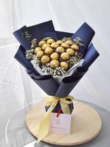 Ferrero Rocher Chocolate Bouquet |Ipoh Free Delivery| Ipohfreshflower.com