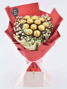 Chocolate Bouquet|Ipoh Free Delivery|ipohfreshflower.com