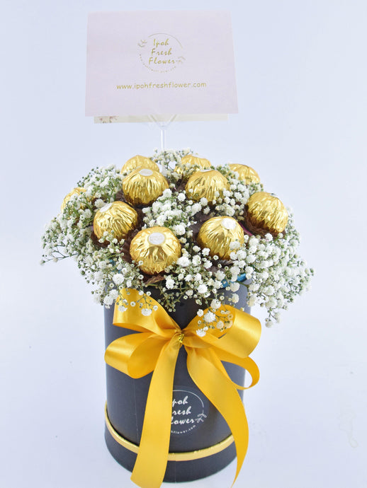 Ferrero Rocher Chocolate Box |Ipoh Free Delivery|ipohfreshflower.com