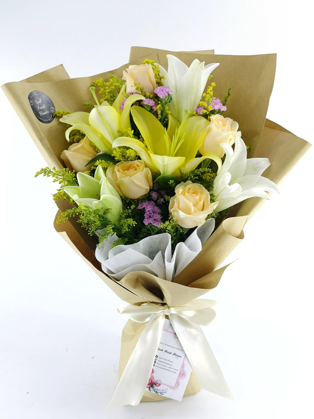 Lily& Rose Fresh Flower and Gift Delivery| Ipoh Free Delivery| Ipohfreshflower.com