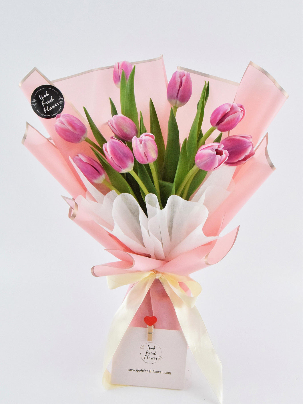 Tulip Bouquet| Ipoh Free Delivery| Ipohfreshflower.com