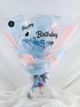 Load image into Gallery viewer, Baby breath & Balloon bouquet| Ipoh Free Delivery| Ipohfreshflower.com