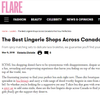 See Our Store Featured in FLARE Magazine's Online Localist Feature