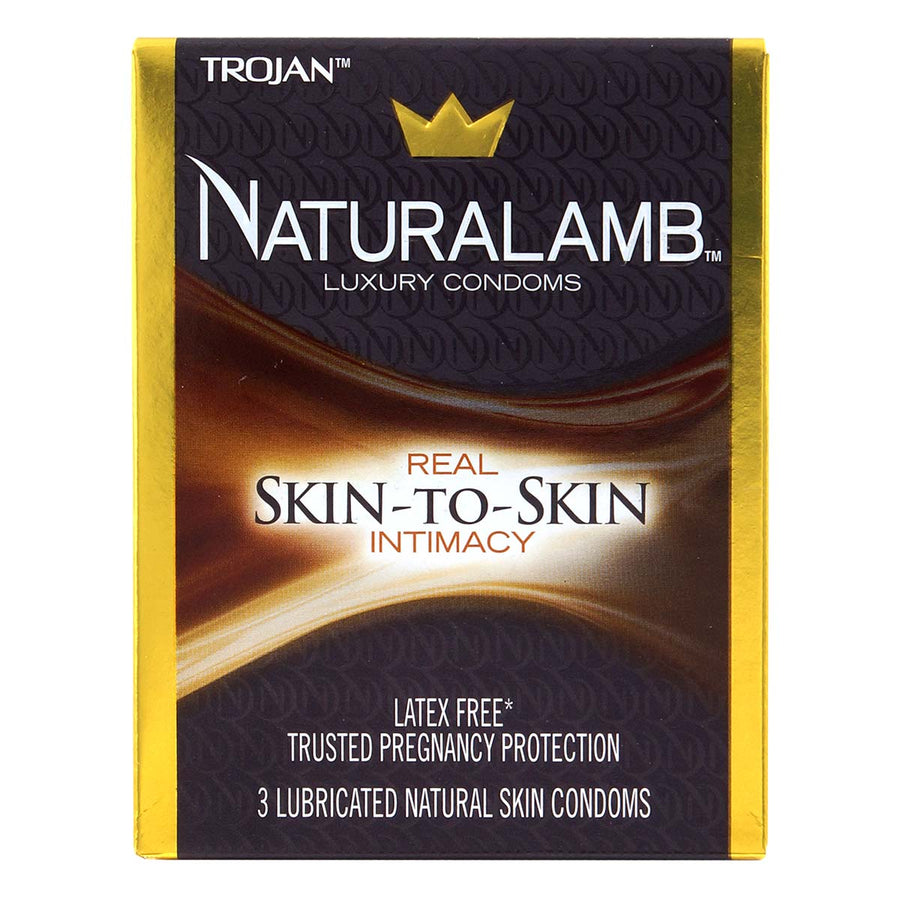 Trojan Naturalamb Luxury Condoms 戰神 天然羊皮安全套 3片裝 - Lovenjoy Club