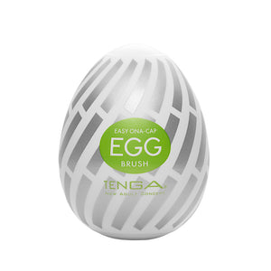 TENGA EGG BRUSH飛機蛋 - 螺旋刷刷蛋 - Lovenjoy Club