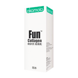 Okamoto 岡本 FUN 骨膠原 60ml 水性潤滑劑 - Lovenjoy Club