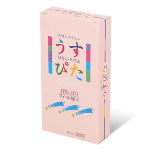 Japan Medical Usu-Pita 奢華 2000 12 片裝 乳膠安全套 - Lovenjoy Club