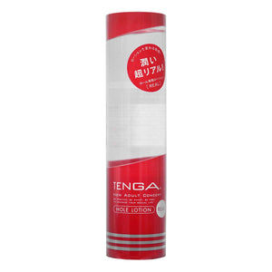 Tenga Hole [REAL 紅] 170ml 飛機杯專用水性潤滑劑 - Lovenjoy Club