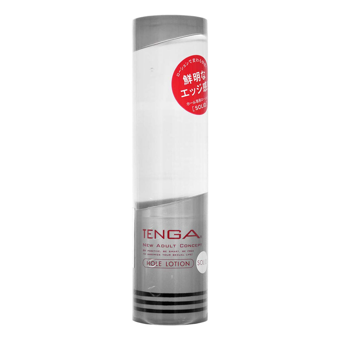 Tenga Hole [SOLID 銀] 170ml 飛機杯專用水性潤滑劑 - Lovenjoy Club