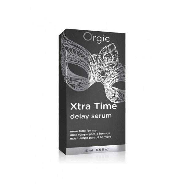 葡萄牙ORGIE XTRA TIME DELAY SERUM 延時矽膠精華液15ml - Lovenjoy Club