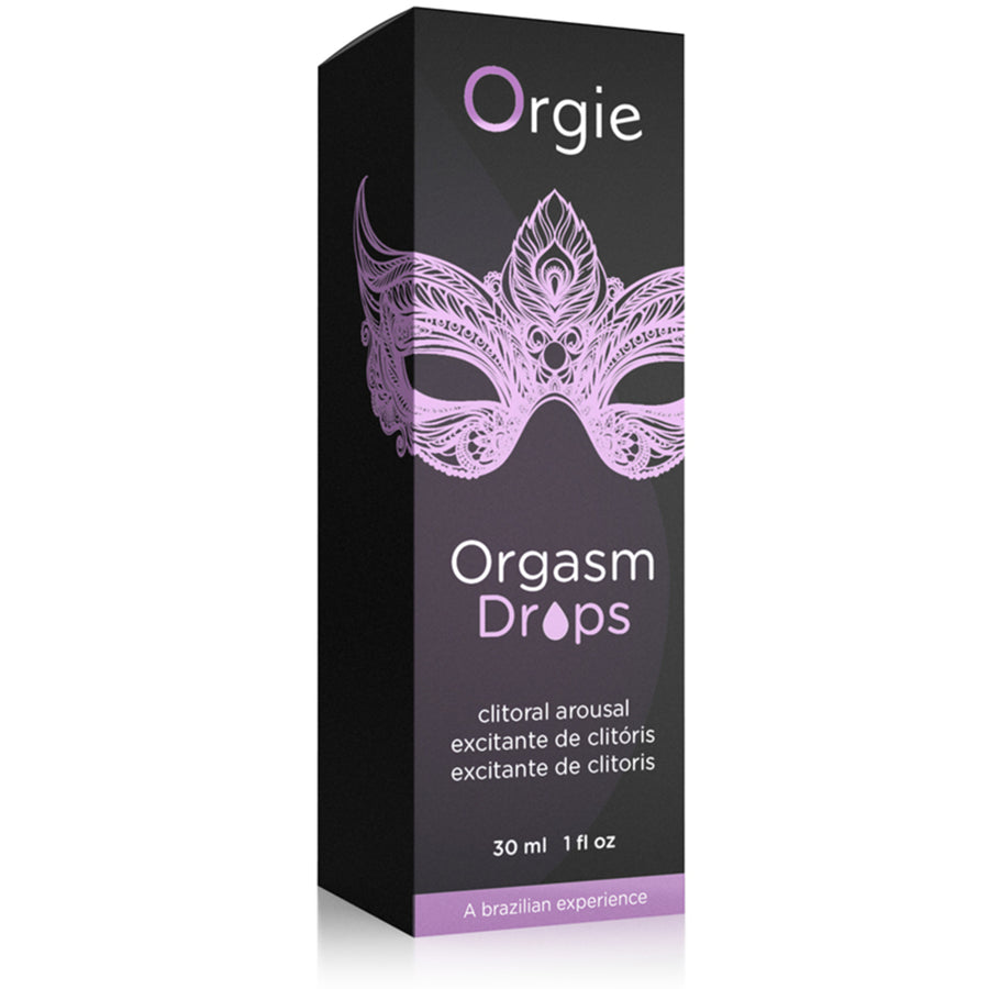 葡萄牙 ORGIE ORGASM DROPS 女士私密高潮液 30ml - Lovenjoy Club