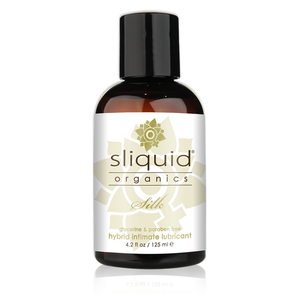 Sliquid - Silk - 125ml 有機水矽混合潤滑液 - Lovenjoy Club