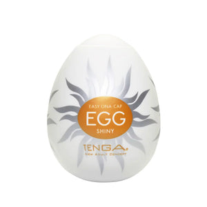 Tenga EGG Hard Gel Shiny 飛機蛋 - 太陽火熱蛋 - Lovenjoy Club