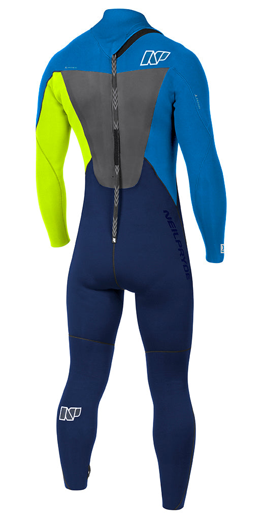 25dc76f2c3a Wetsuit NeilPryde Rise BZip 5 4 3 GBS - NP Surf