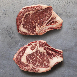 American Tajima Wagyu King Cut Bone-in Ribeye 28oz.