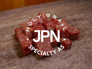 A5 Diced Ribcap Japanese Wagyu - 8oz.
