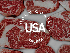 Tajima American Wagyu King Cut Bone-in Strip ~28oz.