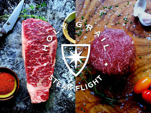 Gift Flight: American Wagyu Steak Flight - Holy Grail Steak Co.