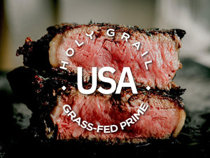 Grass-fed Prime New York Strip ~ 16oz - Holy Grail Steak Co.