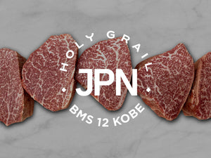 BMS 12 - Kobe Wagyu A5 Filet Mignon 4oz. +