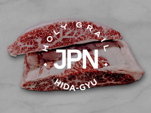 Hida-Gyu Wagyu A5 Hibachi Strip Steaks  **Winner 2002 Wagyu Olympics 8oz.