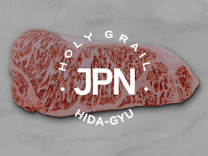 Hida-Gyu Wagyu A5 Strip Steak  **Winner 2002 Wagyu Olympics 13-15oz. - Holy Grail Steak Co.