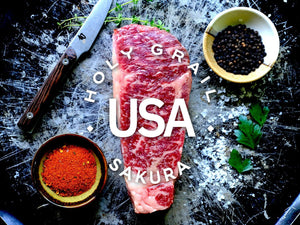 Sakura American Wagyu New York Strip ~ 16oz