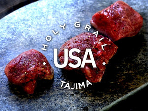 Tajima American Wagyu Hibachi Strip Steak ~8oz. - Holy Grail Steak Co.