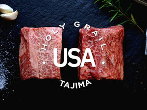 Tajima American Wagyu Prestige Hibachi Strip ~ 8 oz - Holy Grail Steak Co.