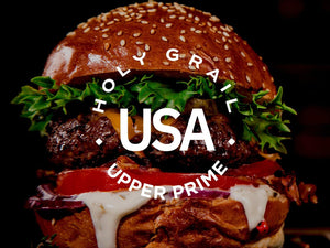 """Upper"" Prime Steak 8oz Burger- 2 pack"