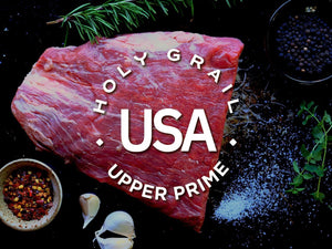 Upper Prime Black Angus Flank Steak ~ 24oz - Holy Grail Steak Co.